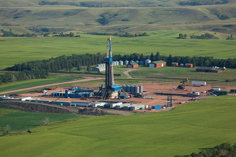 Drilling Operations in North Dakota, July 2012