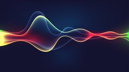 Speaking sound wave illustration