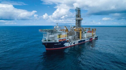 Stena Icemax drillship.