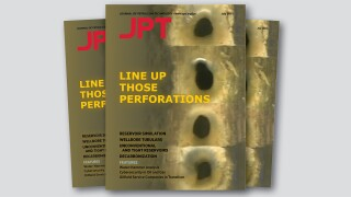 July 2021 Cover of JPT in triptych
