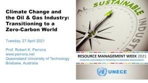 United Nations keynote address - Transitioning to a Zero-Carbon World
