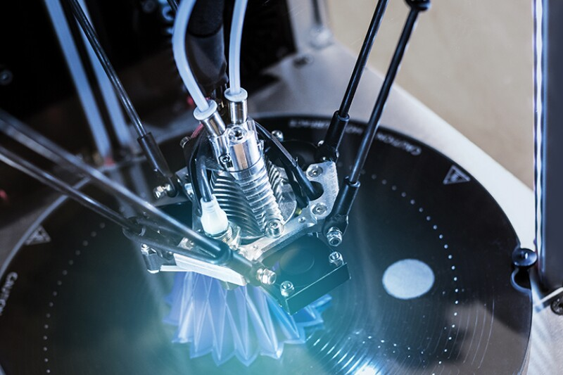 Printer parts of additive manufacturing
