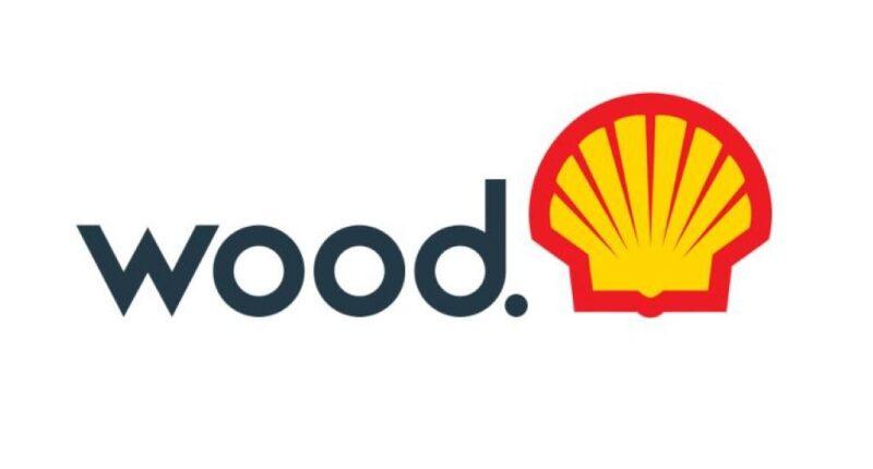 Wood and Shell logos