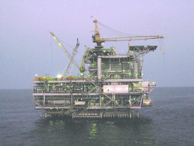 South Nemba A platform offshore Angola