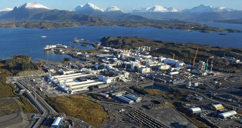 Shell's Nyhamna Gas Facility