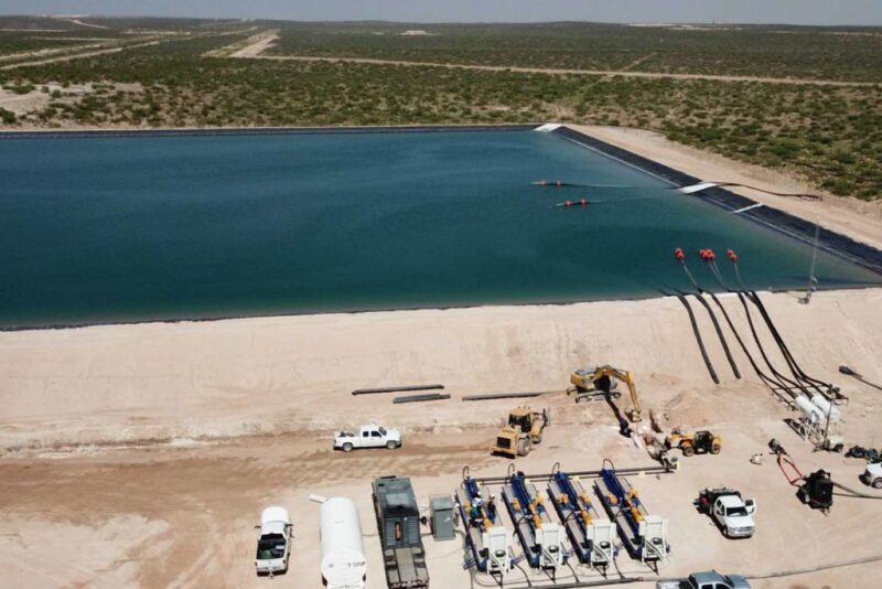 water storage in Permian Basin