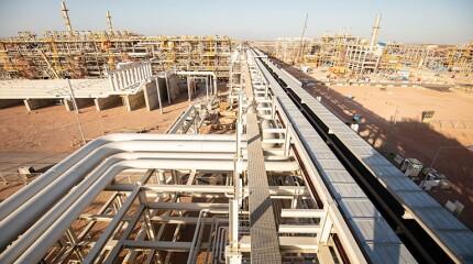 BP's onshore facilities at West Nile Delta.